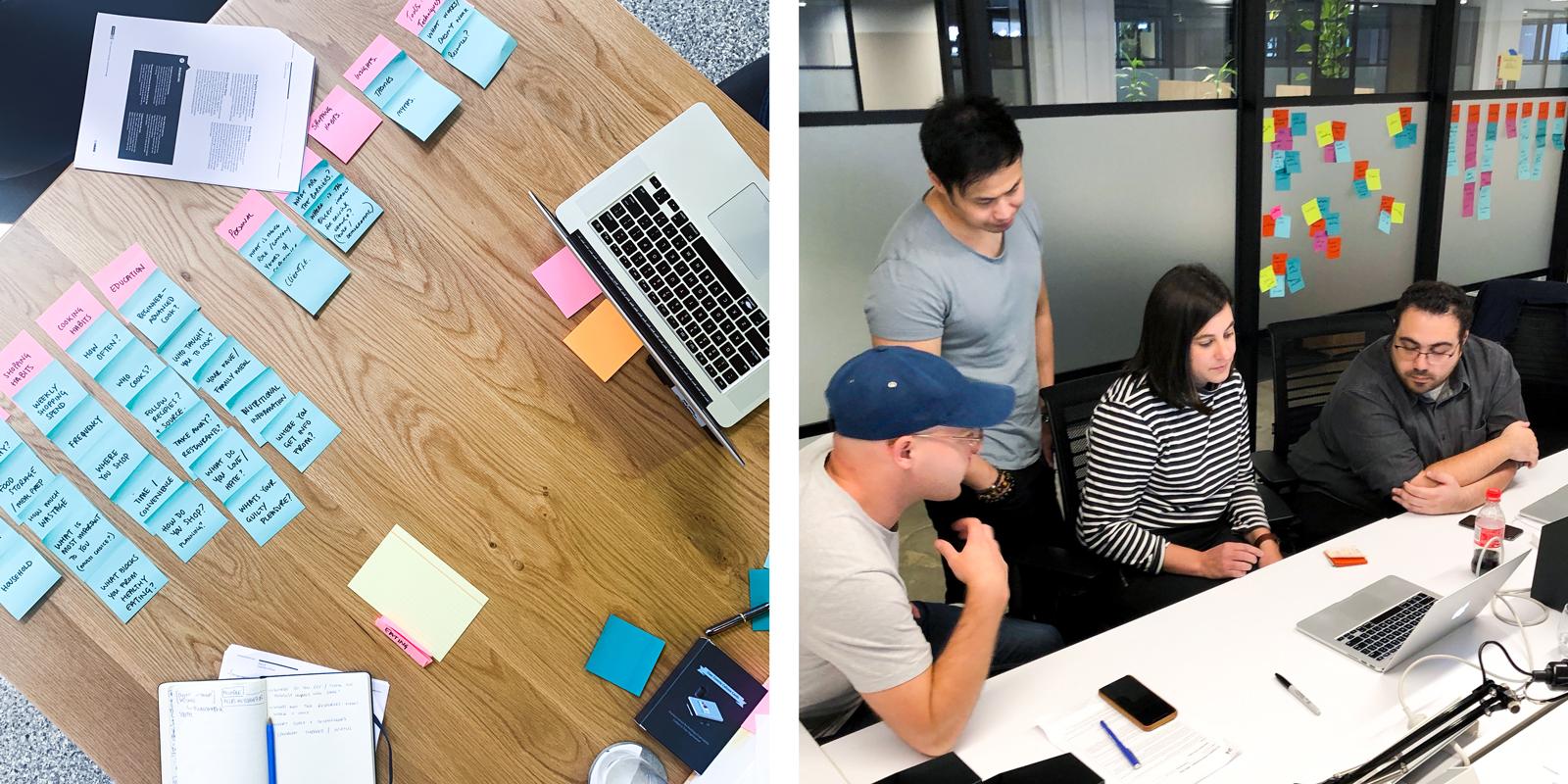 Design-thinking groups